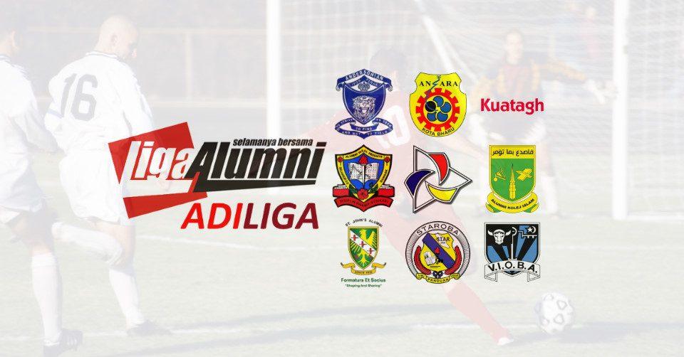 9 Pasukan Berentap Kejohanan Sulong AdiLiga Alumni