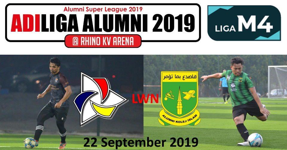 AdiLiga Alumni 2019 IKMAL lwn KISAS