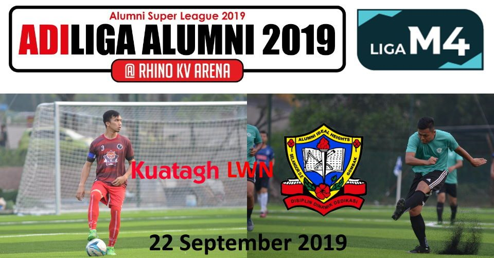 AdiLiga Alumni 2019 Ansara Kuantan lwn Ideal Heights