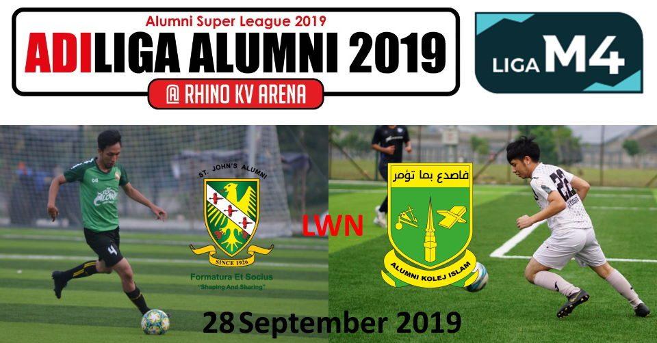 AdiLiga Alumni 2019 SJAA v KISAS