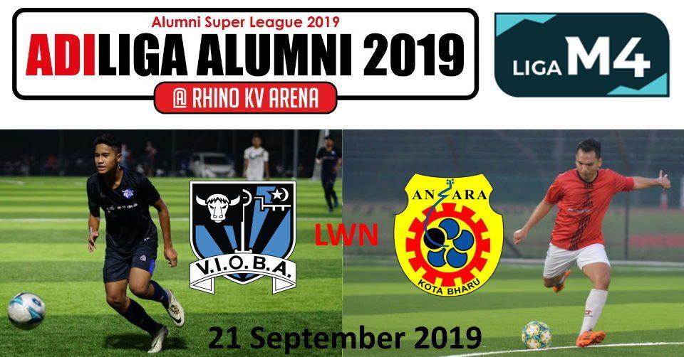AdiLiga Alumni 2019 VIOBA lwn Ansara KB
