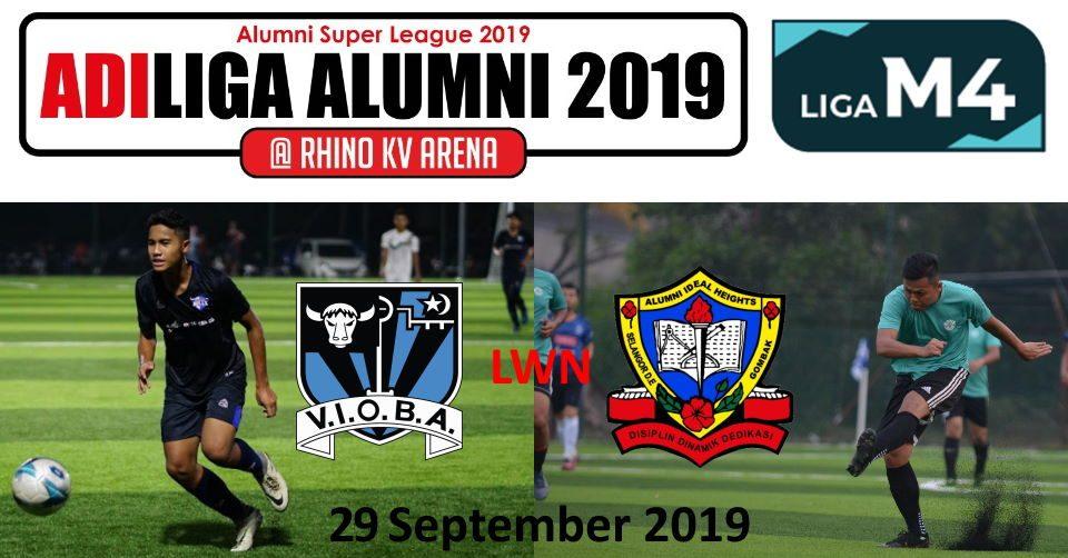 AdiLiga Alumni 2019 VIOBA v Ideal Heights