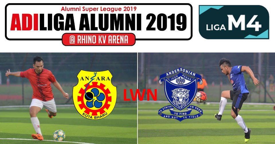 AdiLiga Alumni 2019 Ansara KB v Andersonian