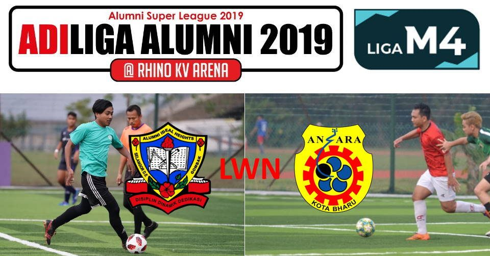 AdiLiga Alumni 2019 Ideal Heights lwn Ansara KB