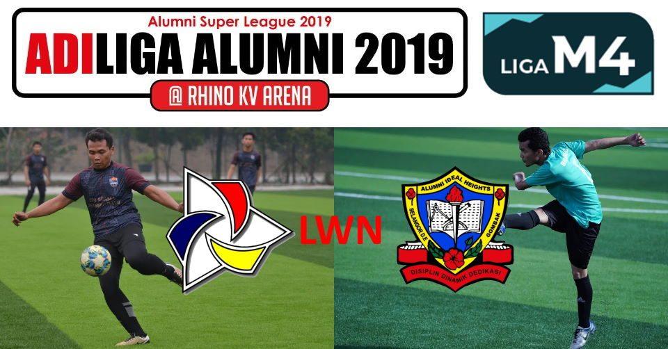 AdiLiga Alumni 2019 IKMAL lwn Ideal Heights