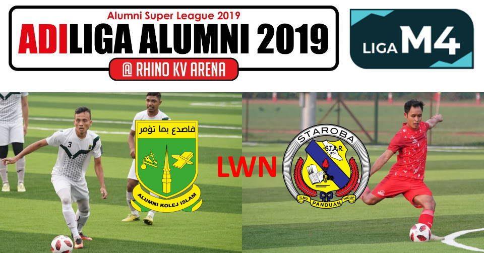 AdiLiga Alumni 2019 KISAS lwn STAROBA