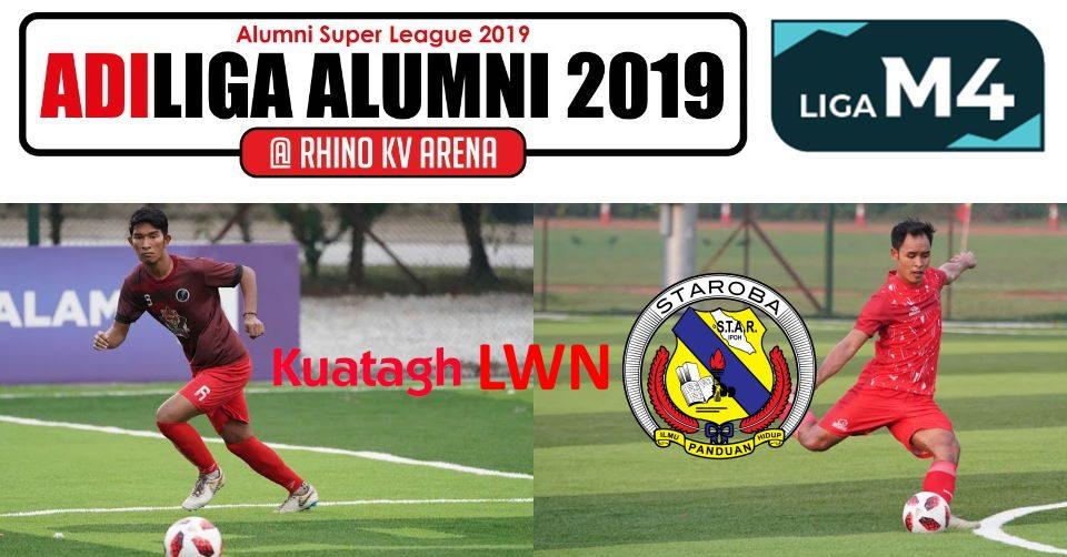 AdiLiga Alumni 2019 Ansara Kuantan v STAROBA