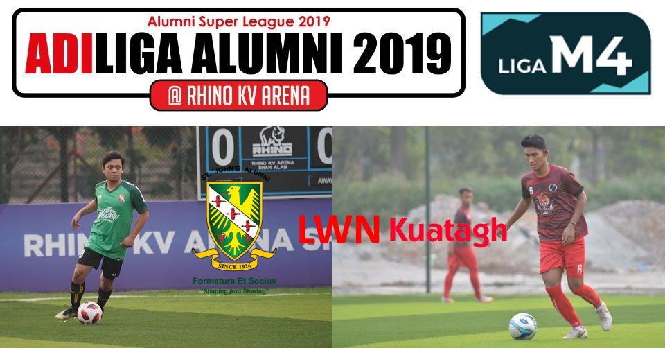 AdiLiga Alumni 2019 SJAA lwn Ansara Kuantan