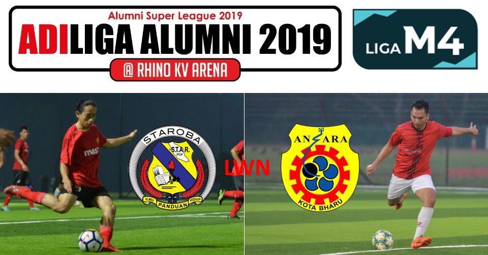 AdiLiga Alumni 2019 STAROBA v Ansara KB