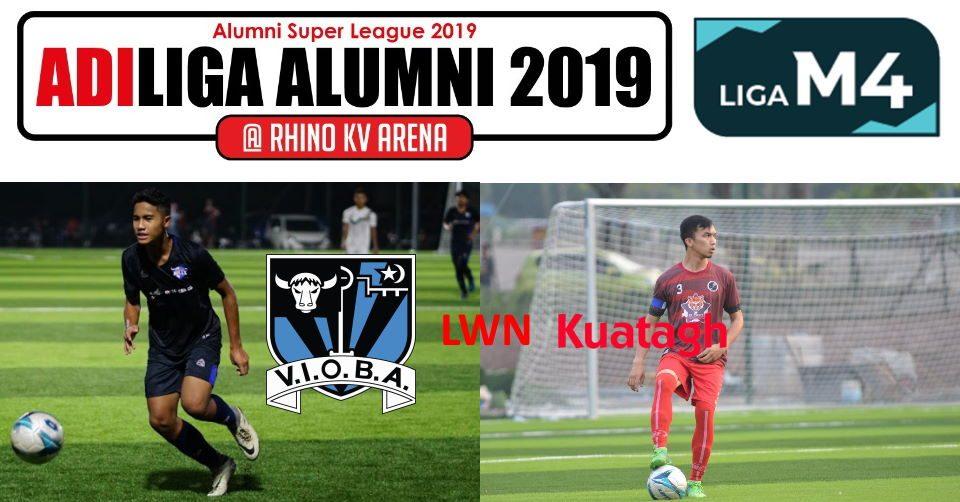 AdiLiga Alumni 2019 VIOBA lwn Ansara Kuantan