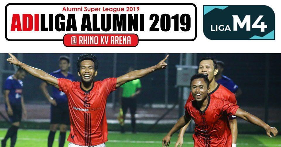 4 Pasukan Teratas AdiLiga Alumni 2019 Bersemuka Dalam Minggu ke-6