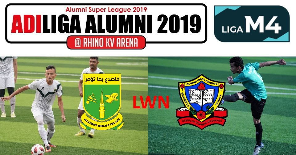 AdiLiga Alumni 2019 KISAS lwn Ideal Heights