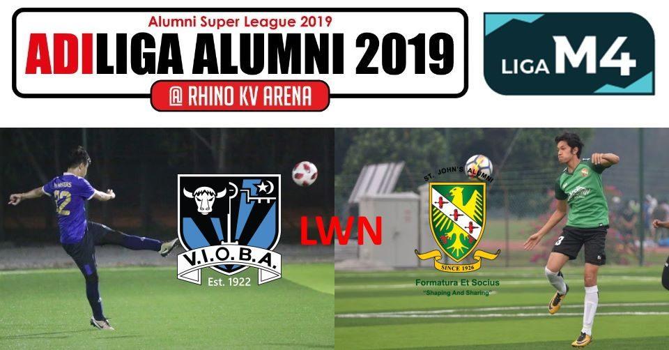 AdiLiga Alumni 2019 VIOBA lwn SJAA
